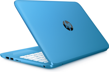 "HP Stream Laptop 11-ah111wm - Intel Celeron, 4GB RAM, 32GB SSD, 11.6"" Display, Blue"