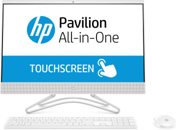 "HP All-in-One 24-f0012cy - AMD A9 -3.10GHz, 4GB RAM, 1TB HDD, 23.8"" Touchscreen, White"