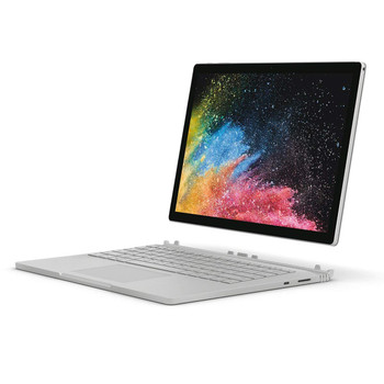 "Microsoft Surface Book 2 - Intel Core i7 8650u, 8GB RAM, 256GB SSD, GeForce GTX1050 2GB, 13.5"" Touchscreen, Windows 10 Pro, Silver"