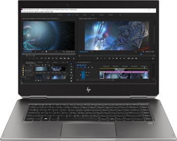 "HP ZBook X360 Studio G5 WorkStation | Intel i7 - 2.20GHz, 8GB RAM, 256GB SSD, Quadro P1000 4GB, 15.6"" Touchscreen, Windows 10 Pro"