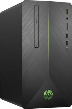 HP Pavilion Gaming Desktop 690-0019 - AMD Ryzen 5 - 3.60GHz, 8GB RAM, 2TB HDD, 128GB SSD, Radeon RX 550 4GB