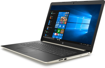 "HP Laptop 17-by0069cl - Intel i7 - 1.80GHz, 4GB RAM, 16GB Optane, 2TB HDD, 17.3"" Display, Pale Gold"