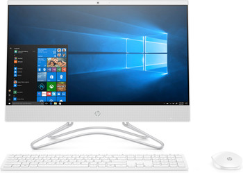"HP All-in-One 22-c0012ds - Intel Celeron, 4GB RAM, 1TB HDD, 21.5"" Display, White"