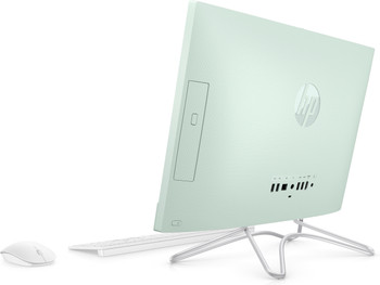 "HP 22-C0012DS – 21.5"" AIO PC, Intel Celeron – 2.00GHz, 4GB RAM, 1TB HDD, Serenity Mint"