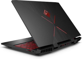 "HP Omen 15-DC0010NR Gaming Laptop – 15.6"" Display, Intel Core i5 - 2.30GHz, 12GB RAM, 1TB HDD, GeForce 1050Ti 4GB, Windows 10, Black"