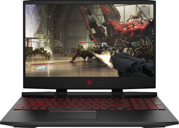 "HP Omen 15-DC0030NR Gaming Laptop – 15.6"" Display, Intel Core i7 - 2.20GHz, 16GB RAM, 1TB HDD +128GB SSD, GeForce 1060 6GB, Windows 10, Black"