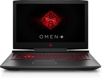 "HP Omen 17-AN198MS Gaming Laptop – 17.3"" 120Hz Display - Intel Core i7 - 2.20GHz - 16GB RAM – 1TB HD + 128GB SSD – GeForce GTX 1070 8GB, Windows 10 Home"