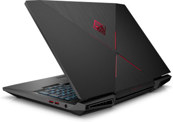 "HP Omen 17-AN124CL Gaming Laptop – 17.3"" 120Hz Display, Intel Core i7 - 2.20GHz, 16GB RAM, 1TB HD + 128GB SSD, GeForce GTX 1060 6GB, Windows 10, Black"
