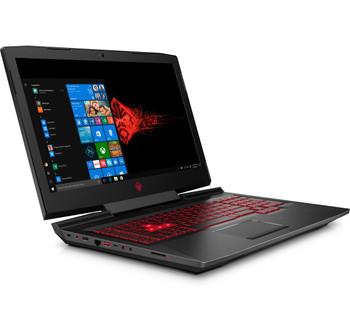 "HP Omen 17-AN110CA Gaming Laptop – 17.3"" Display, Intel Core i7 - 2.20GHz, 12GB RAM, 1TB HD + 128GB SSD, GeForce GTX 1060 6GB, Windows 10, Black"