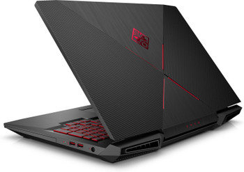 "HP Omen 17-AN120NR Gaming Laptop – 17.3"" 120Hz Display, Intel Core i7 - 2.20GHz, 16GB RAM, 1TB HD + 128GB SSD, GeForce GTX 1060 6GB, Windows 10, Black"