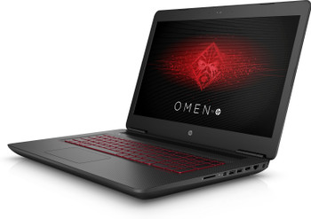 "HP Omen 17-W295MS Gaming Laptop – 17.3"" Display, Intel Core i7 - 2.80GHz, 16GB RAM, 1TB HDD + 256GB SSD, GeForce GTX 1070 8GB, Windows 10, Black"
