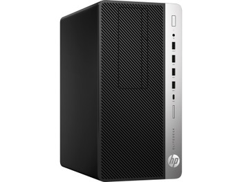 HP EliteDesk 705 G4 Tower - AMD Ryzen 3 – 3.50GHz, 8GB RAM, 500GB HDD, DVD-RW, Windows 10 Pro 64