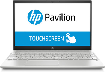 "HP Pavilion Laptop 15-cw0001cy -15.6"" Touch, Ryzen 3 - 2.00GHz, 8GB RAM, 1TB HDD, Silver"