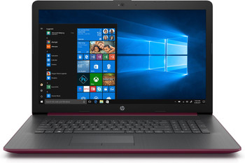 """HP Laptop 17-by0001cy -17.3"""" Touch, Intel i3 - 2.20GHz, 8GB RAM, 1TB HDD, Maroon Burgundy"""