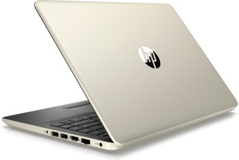 "HP 14-CF000DX Laptop - Intel Core i3 – 2.40GHz, 4GB RAM, 128GB SSD, 14"" Display, Pale Gold"