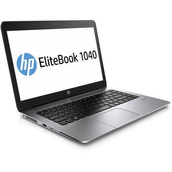 "HP EliteBook Folio 1040 G2 Notebook - 14"" Display, Intel i5 - 2.30GHz, 8GB RAM, 128GB SSD, Windows 10 Pro"
