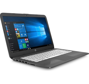 HP Stream Laptop 14-cb108ca - Intel N4000, 4GB RAM, 32GB SSD, Office 365 1Yr, Windows S, Gray