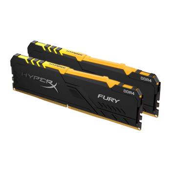 Kingston HyperX FURY RGB 32GB 2400MHz DDR4 Cl15 Dimm Kit of 2 memory Modules