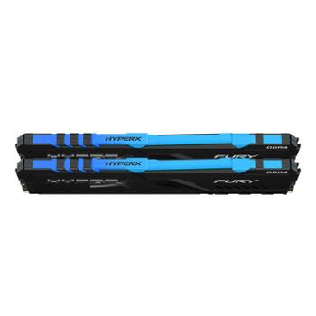 Kingston HyperX FURY RGB 16GB 2400MHz DDR4 Cl15 DIMM Kit of 2 Memory Modules