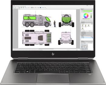"HP ZBook X360 Studio G5 WorkStation | Intel i7 - 2.20GHz, 16GB RAM, 512GB SSD, Quadro P1000 4GB, 15.6"" Touchscreen, Windows 10 Pro"