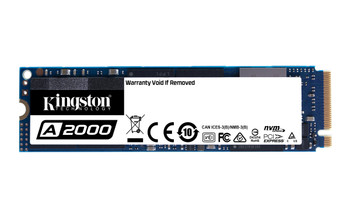 Kingston 250GB  A2000 M.2 2280 NVMe Solid State Drive