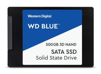 "WD Blue 3D NAND 500GB - SATA III 6 Gb/s 2.5"" Solid State Drive"