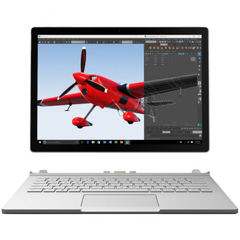 "Microsoft Surface Book - Intel Core i7 – 2.60GHz, 8GB RAM, 256GB SSD, 13.5"" Touchscreen, Windows 10 Pro"