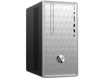 HP Pavilion Desktop 590-p0025z - AND Ryzen 5 - 3.60GHz, 8GB RAM, 1TB HDD, Radeon RX 550 2GB