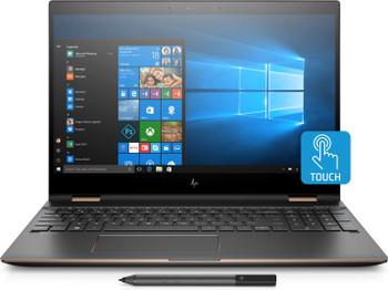 "HP Spectre x360 Convertible 15-ch017nr - 15.6"" 4K Touch, Intel i7 - 3.10GHz, 16GB RAM, 512GB SSD, RX Vega M 4GB, Ash Silver"