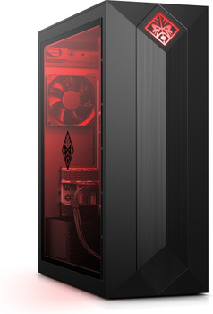 HP Omen 875-0024 Gaming PC - Intel i7 - 3.20GHz, 16GB RAM, 2TB HDD + 256GB SSD, GTX 2080 8GB