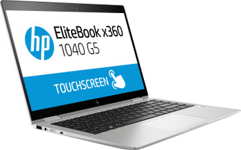 "HP EliteBook X360 1040 G5 – Intel Core i7, 16GB RAM, 256GB SSD, 14"" Touchscreen, Windows 10 Pro, 6UT83US"