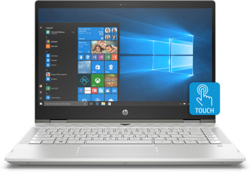 "HP Pavilion X360 – 14-CD1055CL - Intel Core i5, 8GB RAM, 256GB SSD, 14"" Touchscreen, Silver"