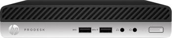 HP ProDesk 400 G4 Mini Desktop - Intel i5, 8GB RAM, 256GB SSD, Windows 10 Pro, 4BC39UT
