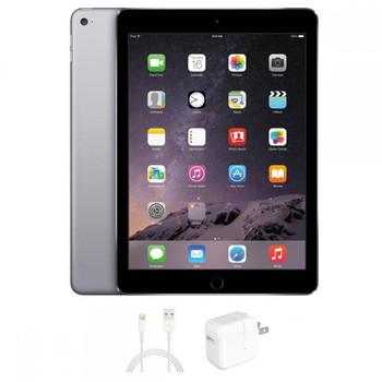 "Apple iPAD Air 2 - 1.50GHz, 64GB SSD, 1GB RAM, 9.7"" Touchscreen, Gray, MGKL2LL/A"