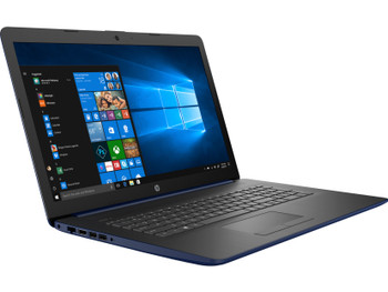 "HP 17-BY0019CY Laptop – Intel Pentium 2.30GHz, 8GB RAM, 1TB HDD, 17.3"" Touch, Lumiere Blue"