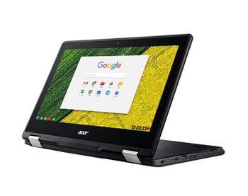 "Acer Spin 11 Chromebook - Intel Celeron, 4GB RAM, 32GB SSD, 11.6"" Touchscreen, NX.GPZAA.001"