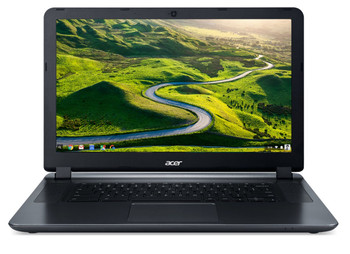 "Acer Chromebook 15 - 15.6"" Intel Celeron 1.60 GHz 2 GB RAM 16 GB Flash Chrome OS 