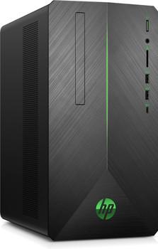 HP Pavilion 690-0020 Gaming PC, Ryzen 5 – 3.60GHz, 8GB RAM, 1TB HDD + 128GB SSD, Radeon RX580 4GB