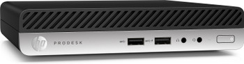 HP ProDesk 400 G4 Mini – Intel i5 – 2.10GHz, 8GB RAM, 1TB HDD, Windows 10 Pro 64, 4AC93UT