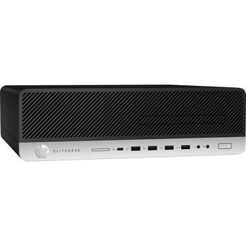 HP EliteDesk 800 G4 SFF - Intel i5 - 3.00GHz, 16GB RAM, 512GB SSD, Windows 10 Pro, 9WV76U8