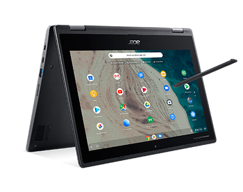 """Acer Chromebook Spin 511 - Intel Celeron, 4GB RAM, 32GB SSD, 11.6"""" Touchscreen with Stylus Pen"""