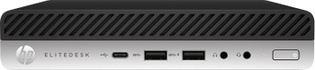 HP EliteDesk 800 G4 Mini - Intel i5, 8GB RAM, 128GB SSD, Windows 10 Pro, 5TV00U8