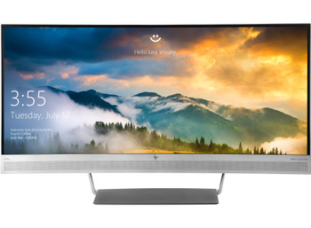 HP EliteDisplay S340c 34in Ultra-Wide Quad HD LED Curved Computer Monitor