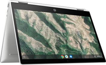 """HP Chromebook x360 14B-CA0025CL – 14"""" Touch, Intel Pentium, 8GB RAM, 128GB SSD, Mineral Silver"""
