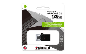 Kingston 128gb Dt Microduo 3 Gen2 + Microusb
