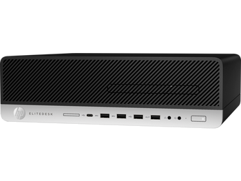 HP EliteDesk 800 G4 SFF - Intel i7, 16GB RAM, 256GB SSD + 256GB SSD, Windows 10 Pro