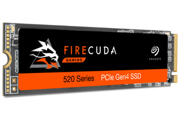 Seagate Firecuda 520 1TB SSD PCIe M.2 2280 Solid State Drive