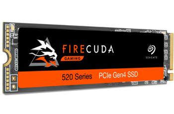 Seagate Firecuda 520 - 500GB SSD PCIe M.2 2280 Solid State Drive