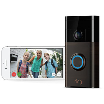 Ring Video Doorbell 1 Venetian Bronze