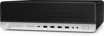 HP EliteDesk 800 G4 SFF - Intel i5 - 3.00GHz, 16GB RAM, 256GB SSD, Radeon R7 430 2GB, Windows 10 Pro, 8JV48U8